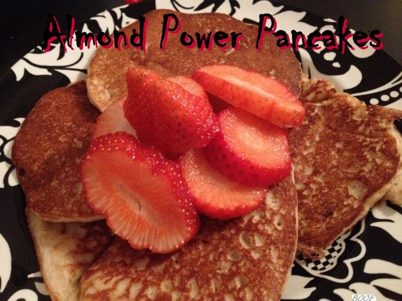 Almond Power Pancakes
